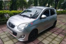 Cần bán gấp Kia Morning EX 1.1 MT 2009, màu bạc chính chủ