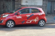 Cần bán lại xe Kia Morning sản xuất 2014, màu đỏ