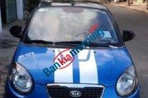 Bán xe Kia Morning sản xuất 2010, màu xanh lam, nhập khẩu xe gia đình