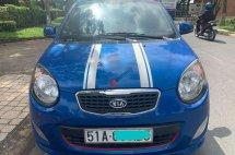 Bán Kia Morning SLX đời 2011, màu xanh lam, nhập khẩu số tự động