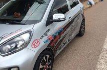 Bán xe Kia Morning sản xuất 2015, màu bạc, giá tốt