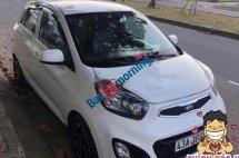 Cần bán xe Kia Morning năm 2014, màu trắng, nhập khẩu