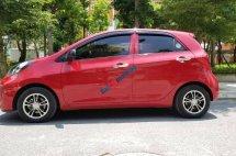 Bán Kia Morning đời 2015, màu đỏ, nhập khẩu nguyên chiếc như mới
