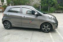 Cần bán Kia Morning SLX sản xuất năm 2011, màu xám (ghi), nhập khẩu nguyên chiếc