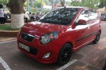 Gia đình bán Kia Morning đời 2011, màu đỏ như mới, 228tr