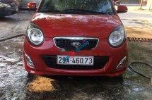 Gia đình bán xe Kia Morning đời 2011, màu đỏ