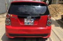 Xây nhà kẹt tiền bán xe Kia Morning SLX đời 2011, màu đỏ số sàn