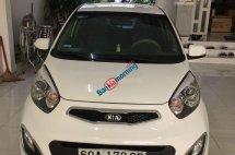 Bán xe Kia Morning 1.25 AT đời 2014, màu trắng số tự động giá tốt