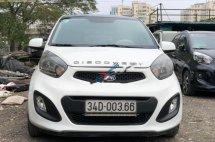 Cần bán Kia Morning Van 1.0 AT sản xuất 2013, màu trắng, xe nhập