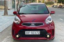 Cần bán xe Kia Morning SI 1.25 AT đời 2017, màu đỏ, giá tốt