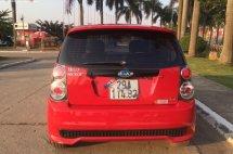 Bán ô tô Kia Morning 2011, màu đỏ xe còn mới nguyên