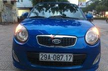 Bán Kia Morning sản xuất năm 2010, màu xanh lam, xe nhập chính hãng