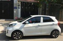 Bán Kia Morning 1.25 MT sản xuất năm 2017, màu trắng, nhập khẩu xe gia đình giá cạnh tranh