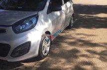 Cần bán lại xe cũ Kia Morning EX đời 2013, màu bạc