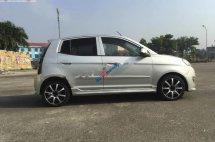 Cần bán lại xe Kia Morning Sport MT sản xuất 2011, màu bạc số sàn