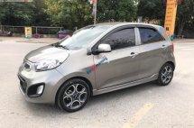 Bán Kia Morning 1.0AT Sport đời 2011, màu xám, xe nhập còn mới