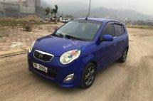 Cần bán xe cũ Kia Morning LX 1.1 MT đời 2012, màu xanh lam, chính chủ