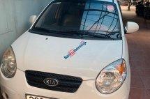 Cần bán Kia Morning sản xuất 2009, màu trắng