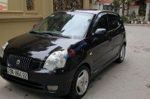 Bán xe Kia Morning LX 1.0 AT năm sản xuất 2004, màu đen, nhập khẩu Hàn Quốc