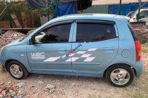 Bán Kia Morning LX 1.0 MT năm 2004, màu xanh lam, xe nhập