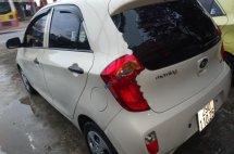 Cần bán lại xe Kia Morning 1.0 AT đời 2012, màu kem (be), nhập khẩu, giá 230tr