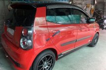 Cần bán gấp Kia Morning 1.1MT sản xuất 2010, màu đỏ