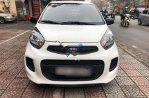 Cần bán lại xe Kia Morning 2016, màu trắng, xe nhập số tự động