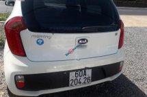 Cần bán lại xe Kia Morning Si đời 2015, màu trắng, giá chỉ 268 triệu
