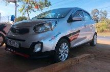 Cần bán xe Kia Morning 2015, màu bạc