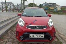 Bán xe Kia Morning năm sản xuất 2016, màu đỏ, chính chủ