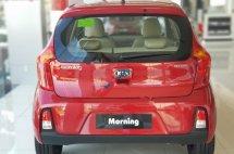 Bán ô tô Kia Morning 1.25 AT Deluxe 2020, màu đỏ, giá tốt