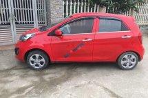 Cần bán xe Kia Morning đời 2014, màu đỏ chính chủ, giá 208tr