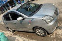 Bán ô tô Kia Morning 2007, màu bạc, xe nhập