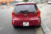 Cần bán lại xe Kia Morning sản xuất 2014, màu đỏ, nhập khẩu Hàn Quốc số tự động, giá tốt