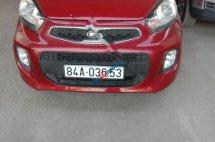 Bán Kia Morning EX đời 2017, màu đỏ, giá 264tr