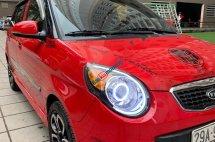 Xe Kia Morning năm 2010, màu đỏ, nhập khẩu nguyên chiếc giá cạnh tranh