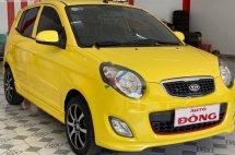 Bán Kia Morning SX 1.1 AT sản xuất năm 2011, màu vàng, chính chủ