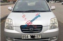 Cần bán lại xe Kia Morning sản xuất 2007, màu bạc, 139 triệu