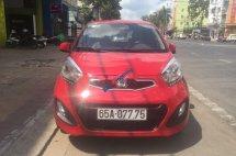 Bán ô tô Kia Morning MT sản xuất năm 2014, màu đỏ số sàn