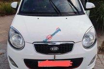 Cần bán Kia Morning MT đời 2010, màu trắng xe gia đình, giá chỉ 160 triệu