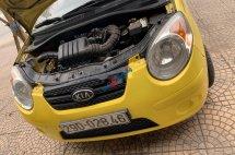 Cần bán gấp xe cũ Kia Morning 2010, màu vàng