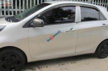 Cần bán gấp Kia Morning LX 2013, màu bạc xe gia đình