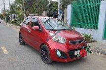 Cần bán Kia Morning năm 2014, màu đỏ, giá tốt
