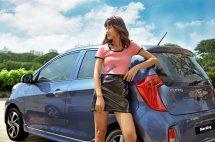 Cần bán xe Kia Morning Deluxe đời 2020, màu xanh lam