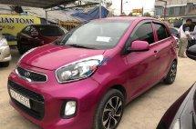 Cần bán lại xe Kia Morning 2016, màu hồng như mới