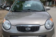 Bán xe Kia Morning slx đời 2010, màu xám, nhập khẩu chính hãng, 245tr