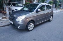 Cần bán lại xe Kia morning EX MT 2008, màu xám, Đà Nẵng