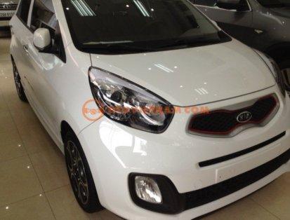 Cần bán lại xe Kia Morning đời 2012, màu trắng, nhập khẩu, số tự động giá cạnh tranh