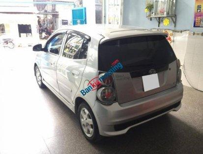 Bán xe Kia Morning LX năm 2013, màu bạc còn mới, 293tr