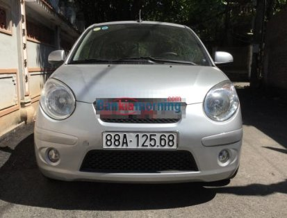 Cần bán xe chính chủ Kia Morning SLX 2012, màu bạc, giá tốt